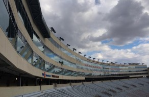Window Cleaning Camp Randall Stadium